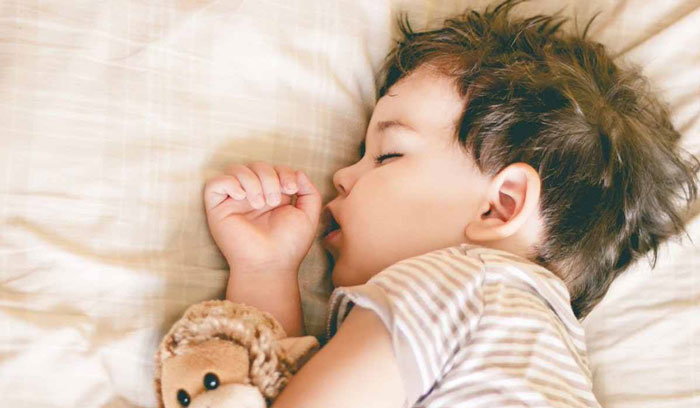 Is it a difficult task to make kids sleep separate from parents?
